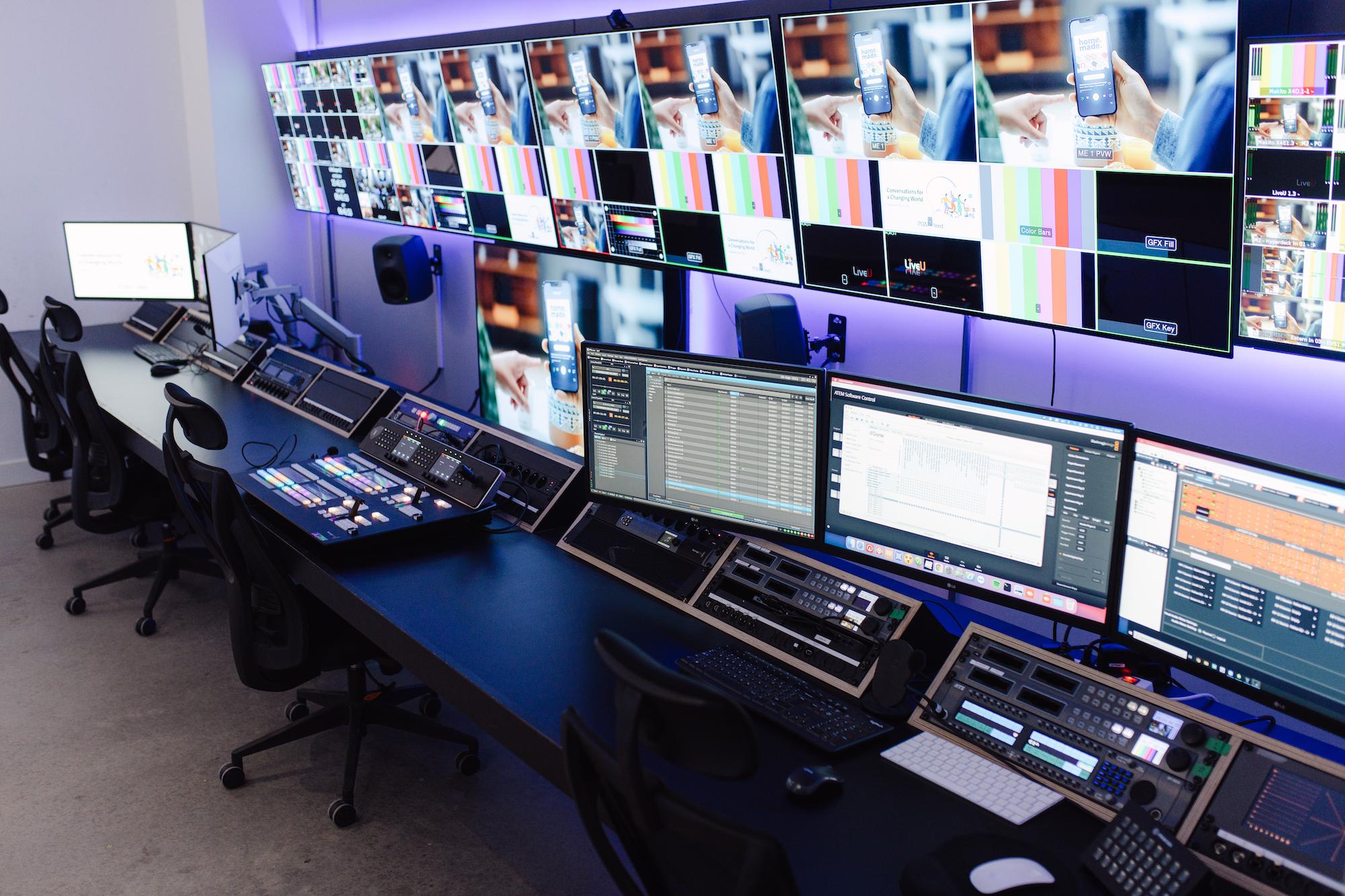 NOMOBO Live Center Remote Control Room MCR